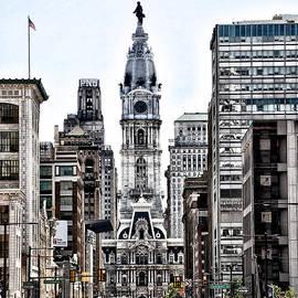 Bill Cannon - Philadelphia City Hall from North Broad Street