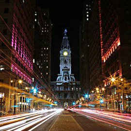 Stephen Stookey - Philadelphia City Hall -- Night