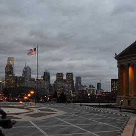 Alex Vishnevsky - Philadelphia from the Steps of Museum of Art-2