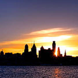 Olivier Le Queinec - Philadelphia Panoramic Sunset