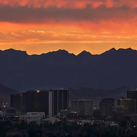 Dave Dilli - Phoenix Skyline at Sunset
