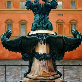 Kathleen English-Barrett - Piazza del Annunziata Fountain