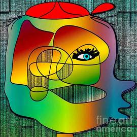 Iris Gelbart - Picasso inspired cartoon
