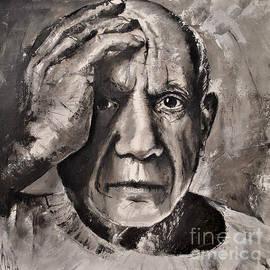 Maja Sokolowska -  Portrait of Pablo Picasso