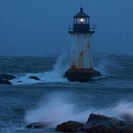 Jeff Folger - Pickering Lighthouse hit by storm surge