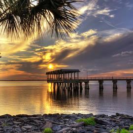 Greg and Chrystal Mimbs - Pier at Sunset