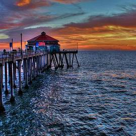Debra Farrey - Pier at the Sunset