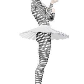 Joaquin Abella - Pierrette clown by Quim Abella