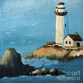 Halina Plewak - Pigeon Point Lighthouse