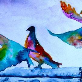 Beverley Harper Tinsley - Pigeons Pigeons Pop