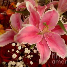 Miriam Danar - Pink and Orange for My Love - Flower Photography
