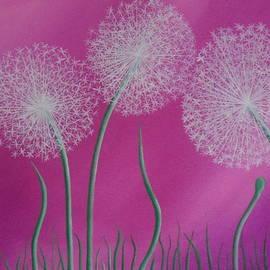 Staci Lyons - Pink Dandelion