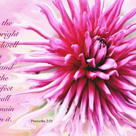 Debbie Nobile - Pink Floral Scripture 1