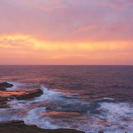 Brian Harig - Pink Oahu Sunrise - Hawaii