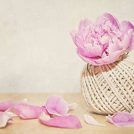 Cristina-Velina Ion - Pink peony AND the thread ball
