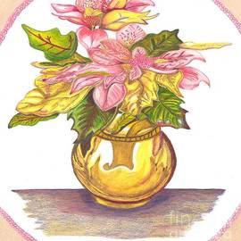 Brigitte C Robinson - Pink Poinsettia Plant
