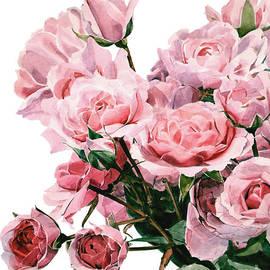Greta Corens - Pink Rose Bouquet