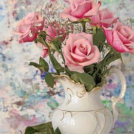 Regina Geoghan - Pink Rose Bouquet