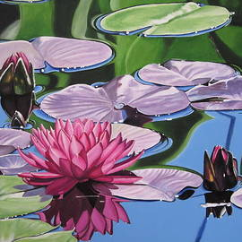 Lillian  Bell - Pink Waterlily