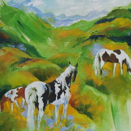 Laura Christie Eddington Artworks - Pinto Pasture