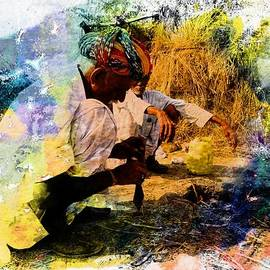 Sue Jacobi - Pipe Smoking Ritual Chillum India Rajasthan 1