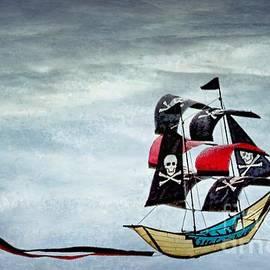 Peggy J Hughes - pirate ship