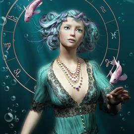Britta Glodde - Pisces zodiac circle