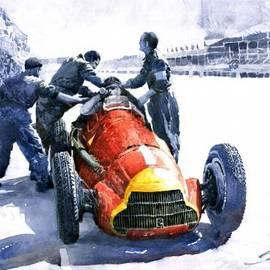 Yuriy  Shevchuk - Pit Stop Alfa Romeo158 British GP 1950 J M Fangio