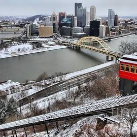 Adam Jewell - Pittsburgh Duquesne Incline Winter
