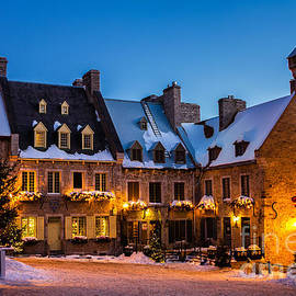 Dawna  Moore Photography - Place Royale Quebec City Canada