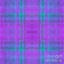 Andee Design - Plaid In Purple 1 Square