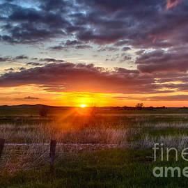 Steve Triplett - Plains Sunset