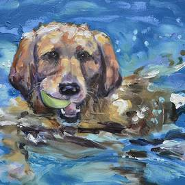 Donna Tuten - Playful Retriever