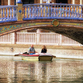Joan Carroll - Plaza De Espana Rowboats