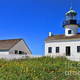 Diana Sainz - Point Loma Lighthouse By Diana Sainz