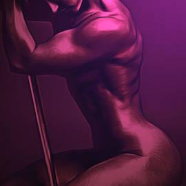 Larry Espinoza - Pole Dancer