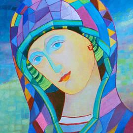 Magdalena Walulik - Polish Madonna contemporary icon