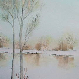 April McCarthy-Braca - Pond in Winter