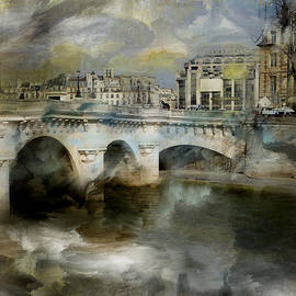 Evie Carrier - Pont Neuf Paris