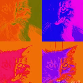 Ann Powell - Pop Art Cat