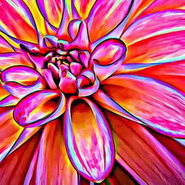 Mary Jo Allen - Pop Art Dahlia