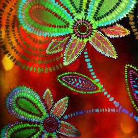 CJ Anderson - Pop Art Flowers with Light Leaks