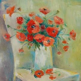 Natalia Bardi - Popies bouquet