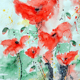 Ismeta Gruenwald - Poppies 06