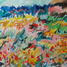 Esther Newman-Cohen - Poppies in Spring