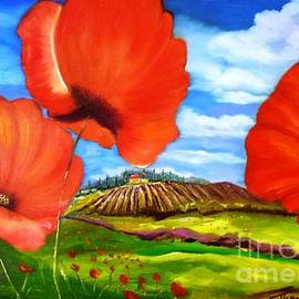 Therese Alcorn - Poppies of Provence