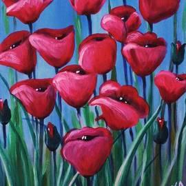 Teresa  Pascos - Poppies