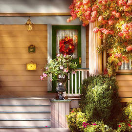 Mike Savad - Porch - Cranford NJ - Simply Pink
