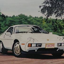 John Houseman - Porsche 928