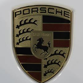 Sebastian Musial - Porsche Emblem on White
